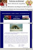 Artigo Secretaria de Estado Comunidades 2005: