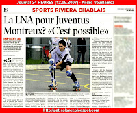 Article 24 Heures 12.09.2007