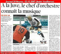 Article 24 Heures 03.10.2007