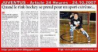 Article 24 Heures 24.10.2007