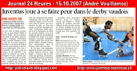 Article 24 Heures 16.10.2007