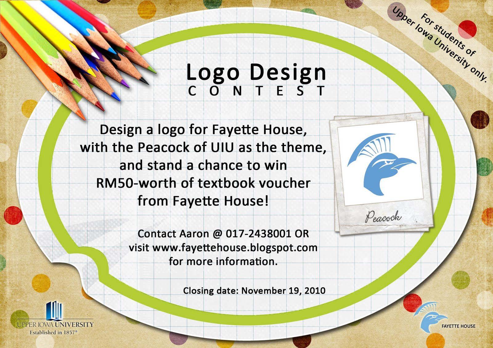 LOGO DESIGN CONTEST TO CELEBRATE THE 60TH ANNIVERSARY OF ...