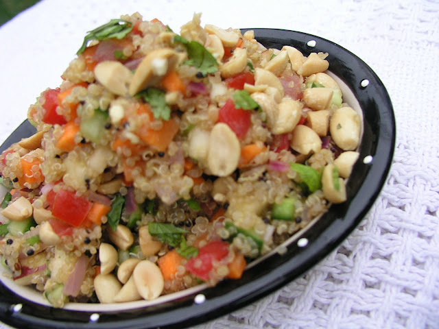 Quinoa Salad Made Indian Style Few Minute Wonders