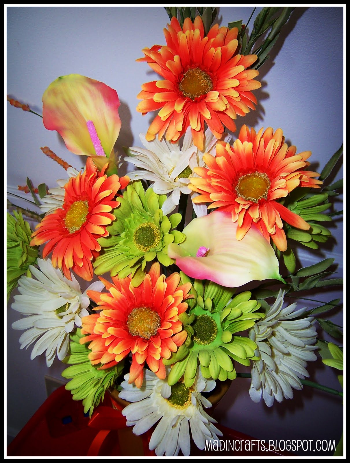 How To Make A Silk Floral Arrangement Creating Large Silk Flower Arrangements Mad In Crafts