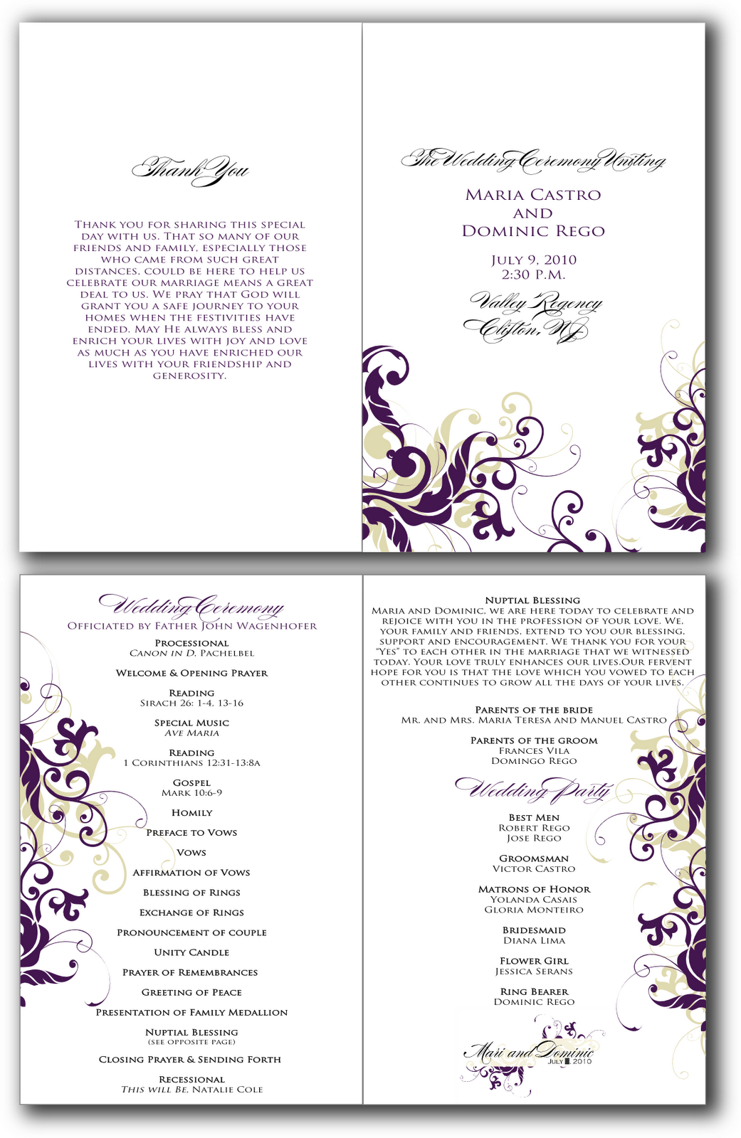 Template Programs. funny wedding program templates looking for ...