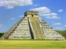 La piramide de Chichen-itza