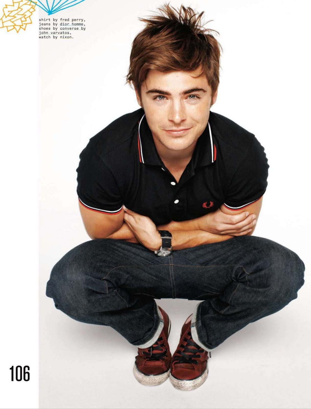 Zac Efron Nylon Guys 104