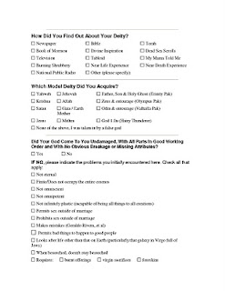 God's Total Quality Management questionnaire 1