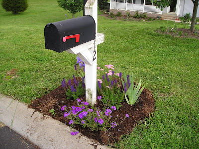 Garden Ideas Around Mailbox landscape ideas from me: ideas for landscaping around mailbox