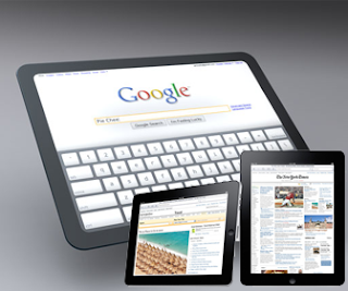 google table and apple ipad