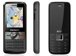 KarbonnKC441 and Intex IN80 Mobile Phones -