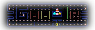 Packman on google -