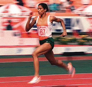 Running exercises - like P T Usha -