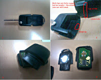 how to change battery in vw keyless fob