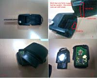 volkswagen car key battery replacement