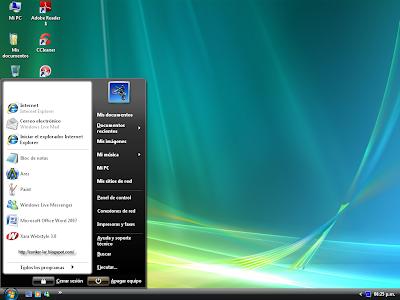 VistaMizer 1.1.6 Screenshot 2 - Conker LAR