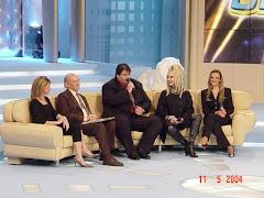Participação no programa Boa Noite Brasil - TV Bandeirantes.