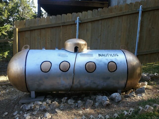Photos Of Used 150 Gallon Propane Tanks For