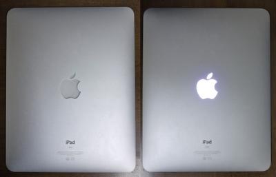 興奮!アップルマークが光るiPad   Blog!NOBON