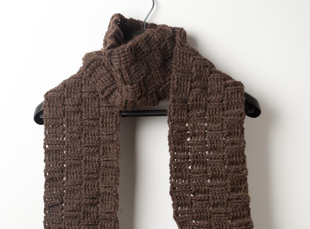 Fresh Mint Rain Mens Crochet Scarf Crochet Scarves For Men