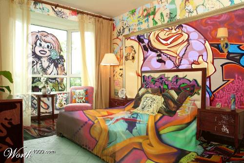 Beauty My Room Full Grafity