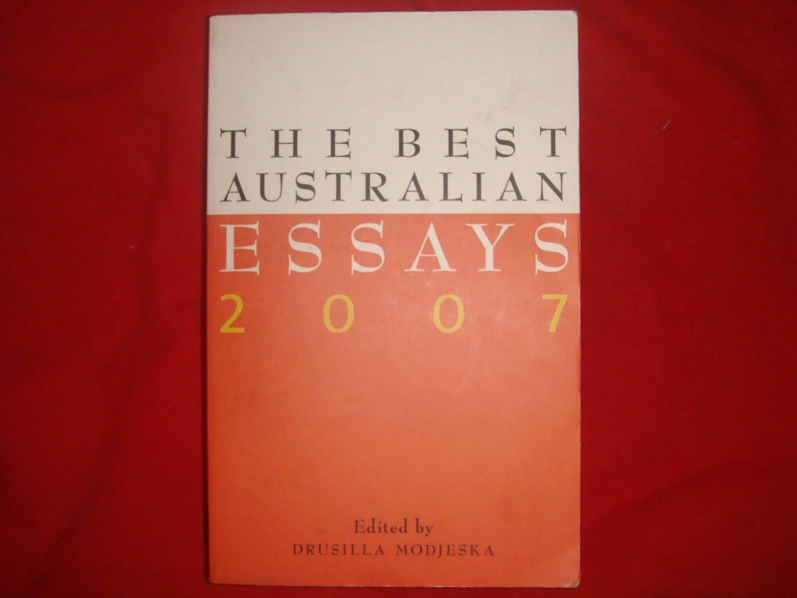 black inc best australian essays Buying a black belt i think it's probably best to use the western version of first i don't know if there is such a thing as customs in australia, new.