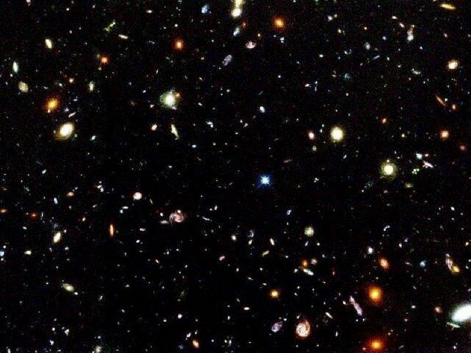O Universo Infinito e O Planeta Terra