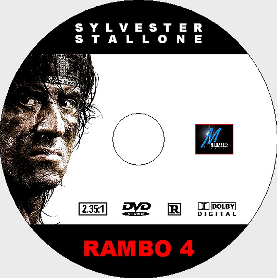 DVD Lables: Rambo 4