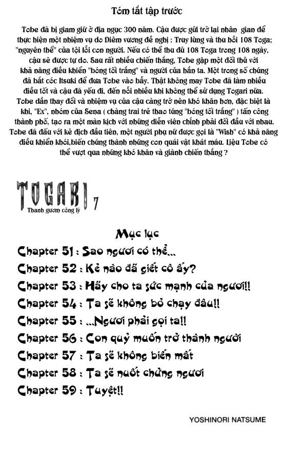 Togari chap 051 trang 3