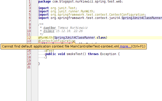 Speeding up Spring integration tests