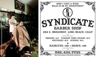 for syndicate barber shop in long beach this is for the magazine live ...