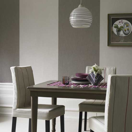 Gray Rooms: Great House Interior: Gray Dining Room