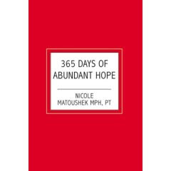 365 Days of Abundant Hope Book