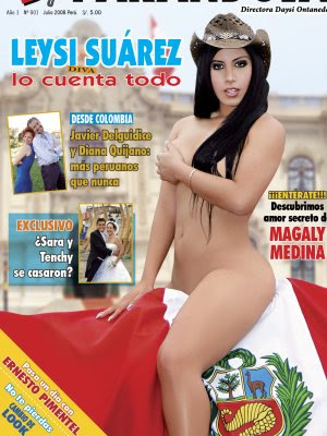 Leysi Suarez - calata sobre la bandera peruana