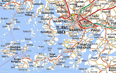 Online Maps Finland road map