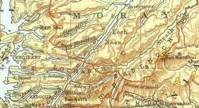 Online Maps: Scotland old map