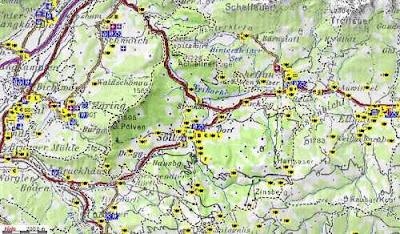Ausztria Térkép Online