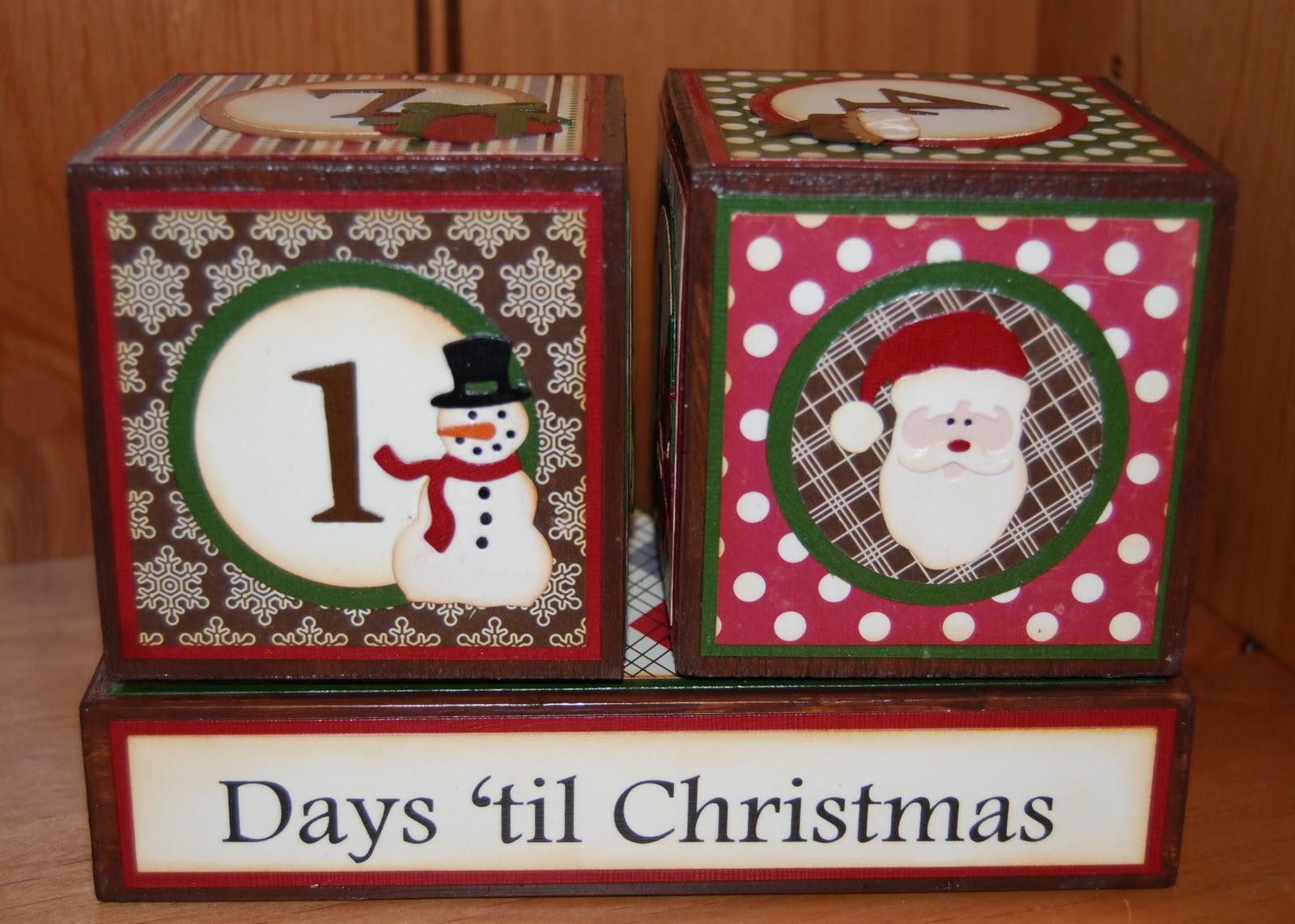 How Many Days Til Christmas.Mom And Me Scrapbooking Days Til Christmas