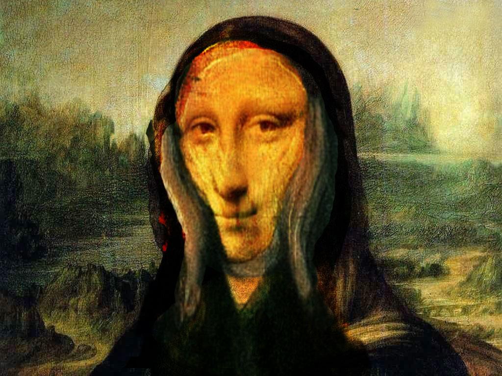 graphic design: Dadaism - my work Dadaism Mona Lisa