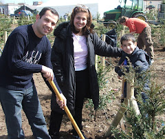 Community Planting in Terryland Forest Park