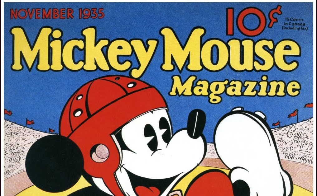 All story Mickey Mouse Magazine 1935 1939