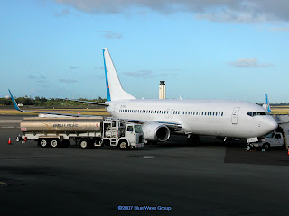 Hong Kong Express Airways 737 808 W B Kxe C N 34710 Gets Fueled Up For Its Next Segment To Maj As 8002 Is Being Leased From