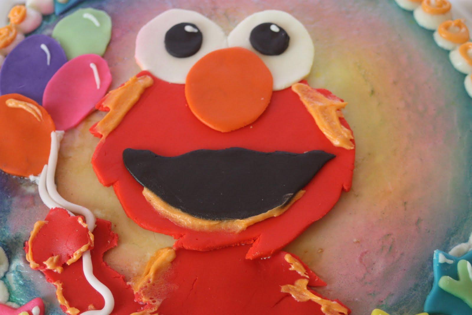 Freya Cakes Elmo Cake