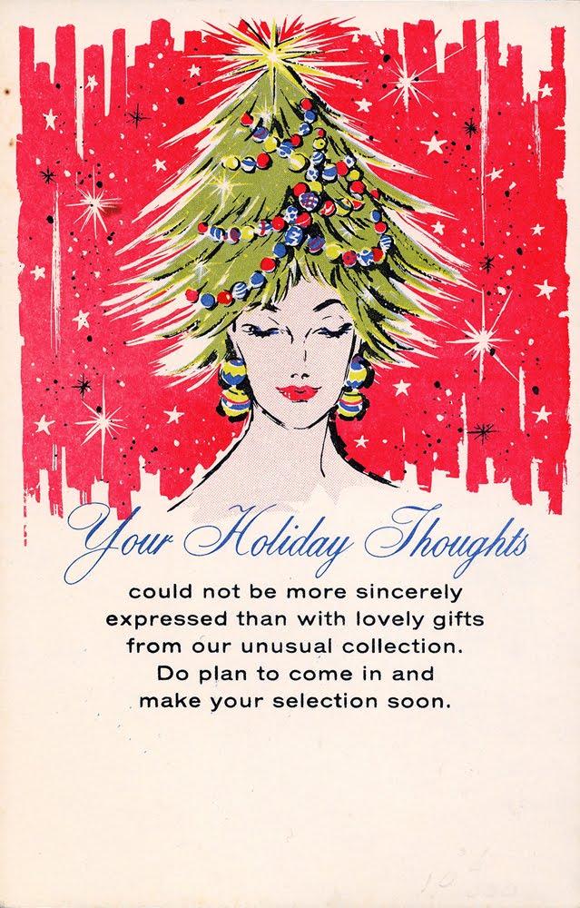 neato coolville  salesman sample christmas advertising