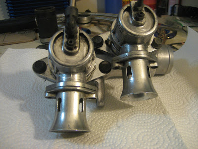 clean and polished blow off valves