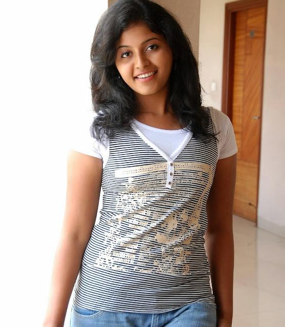 Hot Film Actress Gallery: Actress Anjali Latest New Sexy