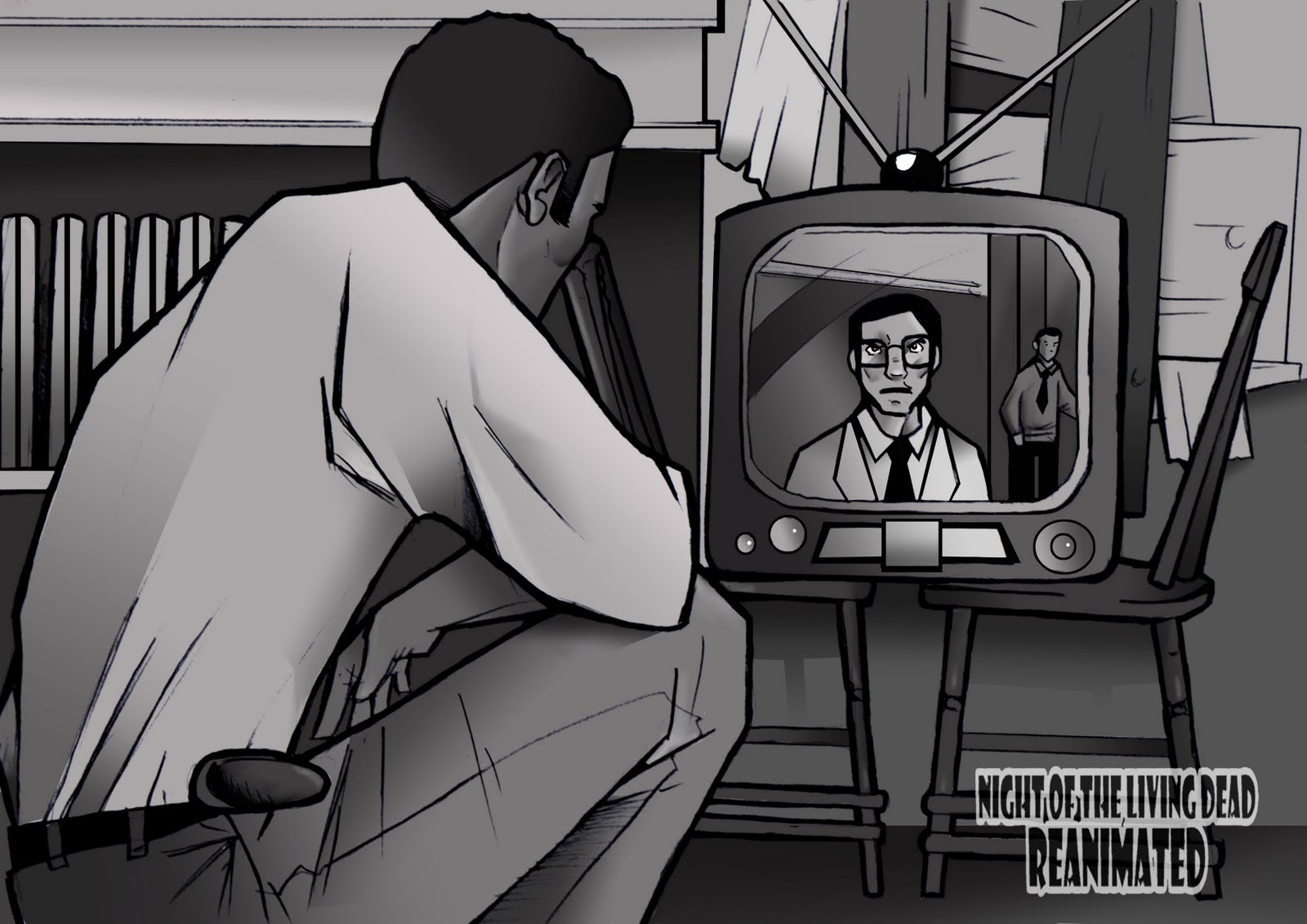 The Art of Carla Rodrigues: Night of the Living Dead: Reanimated