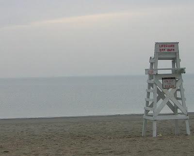 Fairfield County Beach - Lifeguard Off Duty