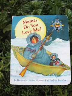 Mama do you love me board book