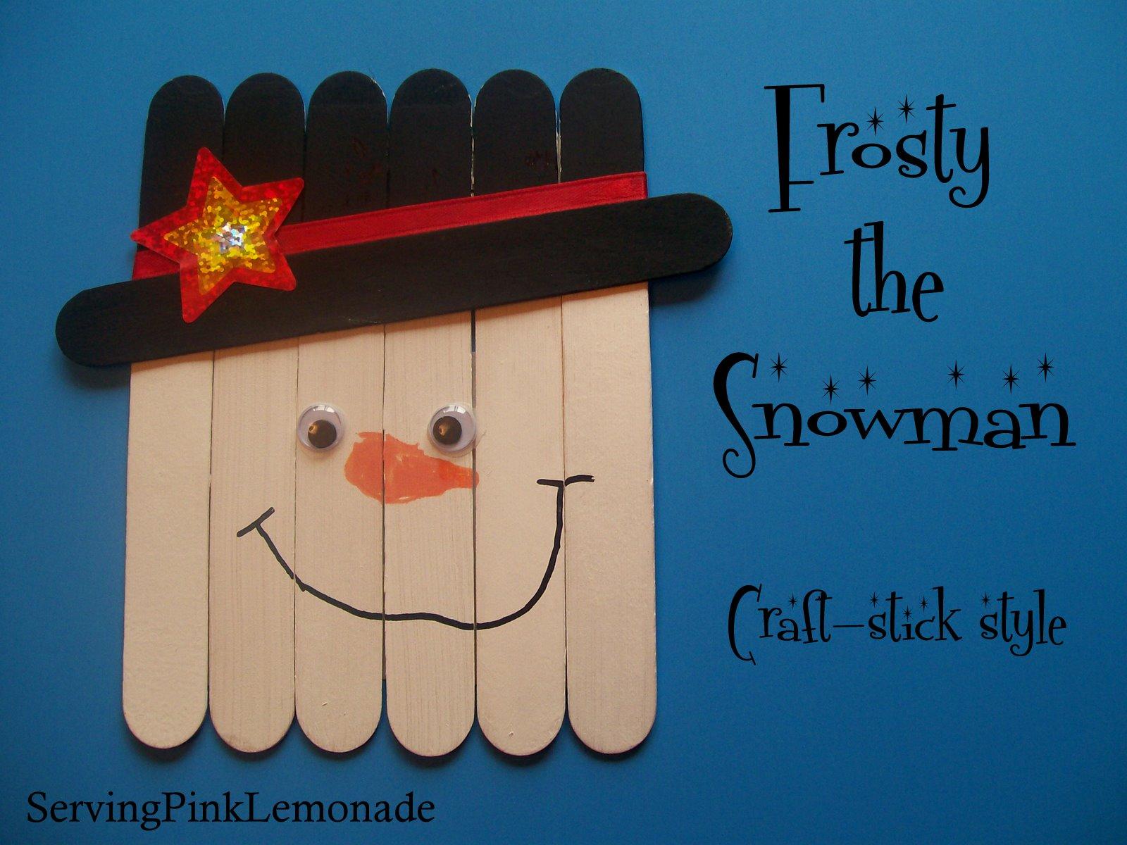 Lollipop Stick Craft Ideas